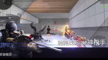 《穿越火线》新年神器AWM-天龙超强打法!