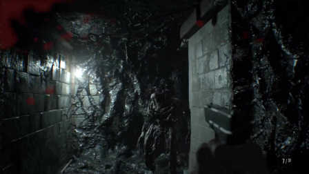 纯黑直播《生化危机7》正式版 P3 勇虐群尸