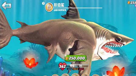 【肉搏快乐】饥饿鲨鱼世界 47巨齿鲨