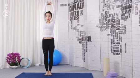 瑜伽女主播帮你3小时雕塑小腿线条