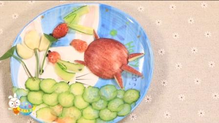 创意水果拼盘 荷塘月色 37