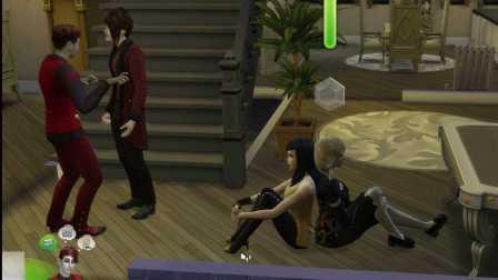 模拟人生4吸血鬼扩充包吸血鬼夫妻的超级成长之路 11