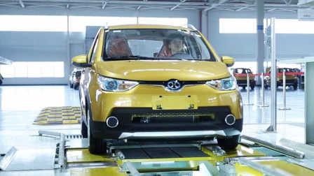 北汽新能源EC180电动汽车 车型亮点讲解