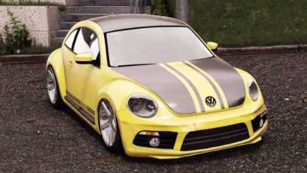 《GTA5》汽车mod #206大众 甲壳虫【希特勒的杰作】