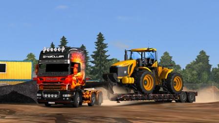 『干部来袭』欧洲卡车模拟2 斯堪尼亚Scania Dragon