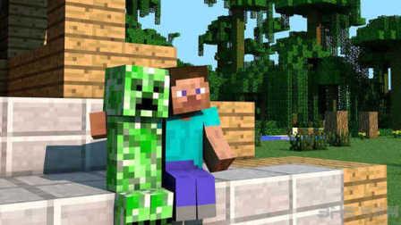 Minecraft 我的世界新手生存第27期做TNT炸弹 挤牛奶做生日蛋糕 小悠实况游戏解说