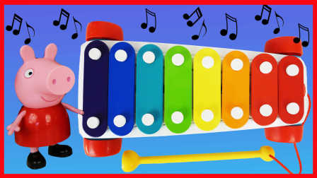 佩奇木琴玩具变奇趣蛋