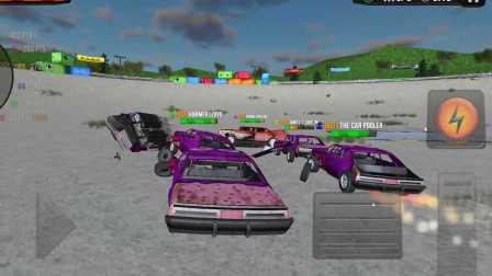 撞车比赛 疯狂 激烈 刺激 飞车 翻车 侠盗猎车手 GTA5 闪电麦昆 汽车总动员 赛车总动员
