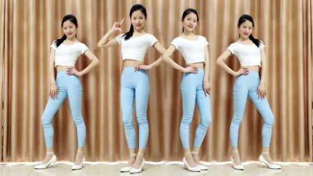 新生代广场舞 小小姑娘(64步健身操)编舞希帆