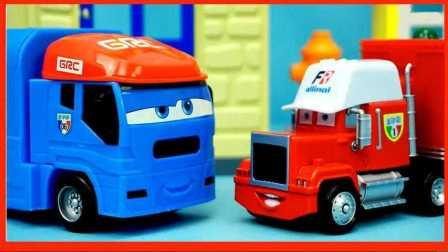 变形警车珀利 闪电麦昆玩具汽车总动员 托马斯和他的朋友们