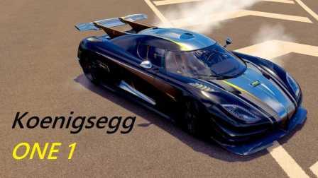 【土豆试驾】《极限竞速:地平线3》柯尼塞格 ONE 最难开的后驱车
