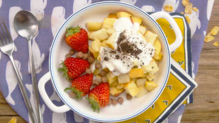 太阳猫早餐 第一季 雪山苹果面包粒 246