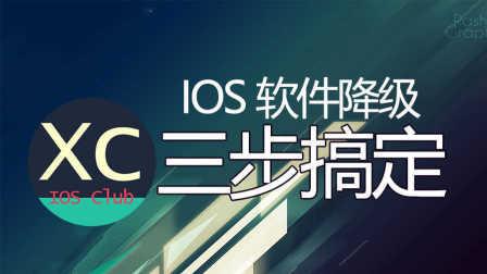 IOS软件越用越卡?教你如何降级软件使用旧版本