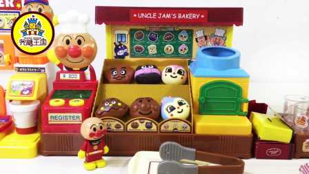 新玩具驾到 2017 面包超人面包店拆箱试玩 30 面包超人面包店拆箱试玩