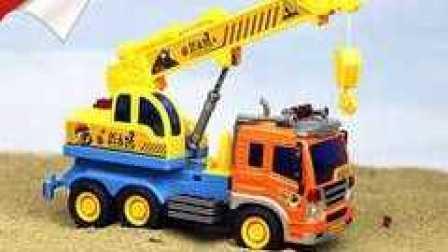 挖掘机视频表演大全 工程车 推土机 挖土机 小恐龙开挖掘机小游戏