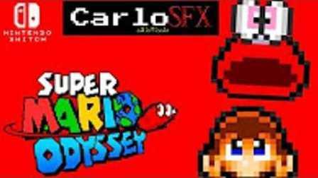 【2D像素】《超级马里奥Odyssey》宣传视频