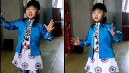 能歌善舞的蒙古族小帅哥~呼伦小学阿比亚斯