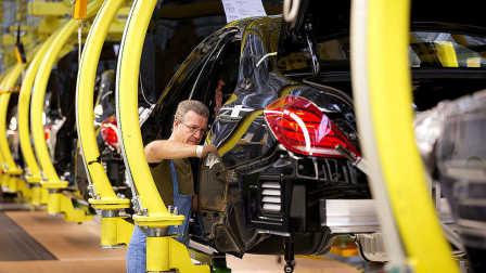 超级汽车工厂:奔驰S级德国辛德芬根组装生产线 Mercedes-Benz