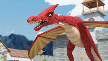 原创动画《恐龙的宿敌》第5集:房顶怪入侵联盟