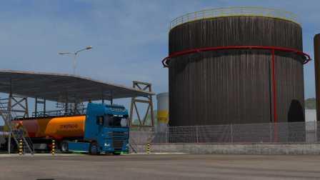 『干部来袭』欧洲卡车模拟2 达夫XF95 山路十八弯
