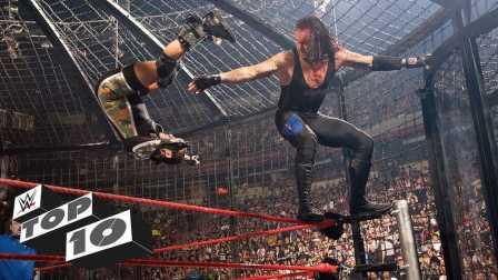 WWE铁笼密室淘汰赛史上 十个最惨烈的淘汰瞬间