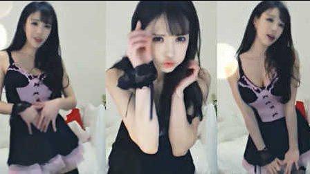 【手机专用】紫色女仆装~熊猫女主播赵世熙热舞《上下》-0211
