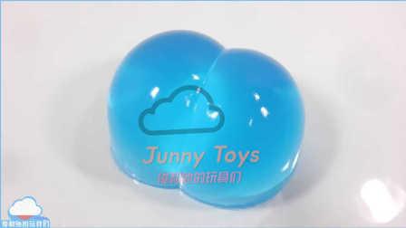 如何做 软果冻 屁股果冻制作 嘻哈软糖布丁 注射器玩具 学习颜色 动力沙 动力砂模型玩具 彩色粘液混合 益智游戏 兴趣培养 【 俊和他的玩具们 】