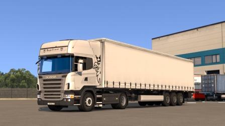 『干部来袭』欧洲卡车模拟2 斯堪尼亚R2008