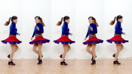 玫香广场舞  32步迪斯科自由步  2017最新广场舞附分解