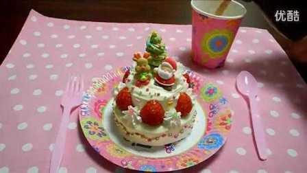 【Amy时尚世界】迷你圣诞小蛋糕