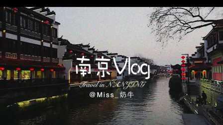 [Miss_奶牛]南京旅行Vlog | 宜家|先锋书店|夫子庙|南京大排档