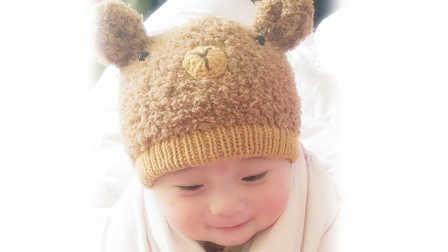 【小脚丫】(小熊帽子1)毛线钩法毛线玩具的钩法学钩玩偶编织方法教程