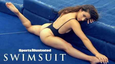 美国奥运体操冠军 Aly Raisman 为体育画报拍摄泳装