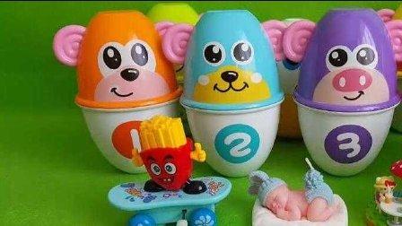海尔兄弟与大象巴巴拆大个的奇趣蛋玩具,海尔兄弟 叶罗丽宝贝