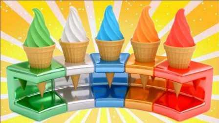 冰雪奇缘冰淇淋 小马宝莉培乐多彩泥橡皮泥玩具
