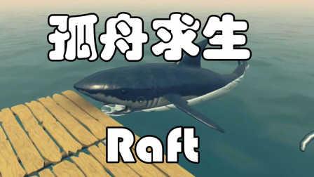 皮卡解说搞笑独立游戏 《木筏漂流记》:孤男单身离家出走遭鲨鱼虐菜