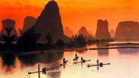 渔舟唱晚(央视天气预报背景音乐)