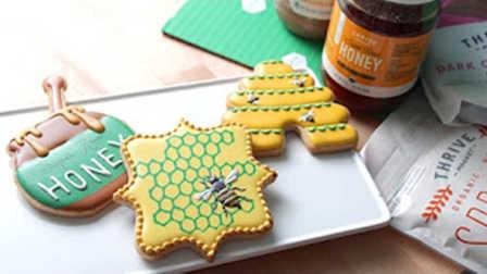 【喵博搬运】【食用系列】蜜蜂糖霜饼干 (☆゚∀゚)