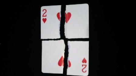 魔术教学:碎牌还原 太不可思议了 一分钟学会
