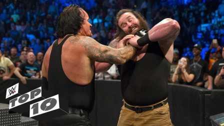 WWE十大巨人被虐瞬间 毁灭兄弟锁喉抛摔黑山羊