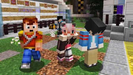 【入江闪闪*天骐*悠然小天】MC博士的实验室03-逃跑我就服闪哥哥,跑出来的第二名还有谁—Minecraft我的世界服务器小游戏