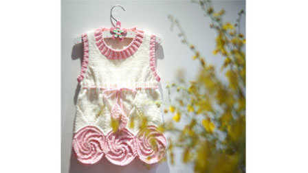 甜甜棒棒糖第八集:挑袖子织袖子好看又简单