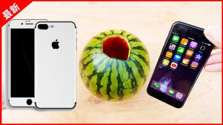 「果粉堂」经过硫酸 漂白后 iPhone7磨砂黑变纯白色