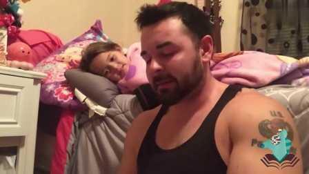 这位爸爸有严重的口吃 却每天坚持要给孩子读晚安故事