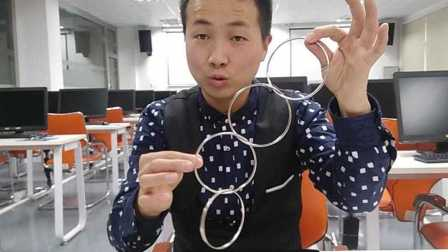 魔术教学:中国四连环 原来这么简单