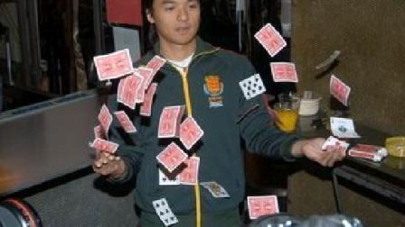 魔术教学:空手出牌 超帅