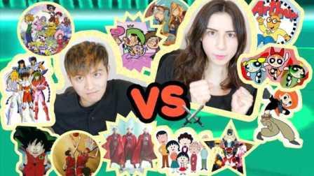 中美童年动画大PK,哪国的小孩更幸福?满满都是回忆!