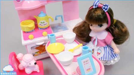 烹饪小公主 娃娃厨房玩具 过家家 小企鹅波鲁鲁 惊喜鸡蛋 惊喜蛋 奇趣蛋 惊喜玩具 女孩游戏 一起玩 【 俊和他的玩具们 】