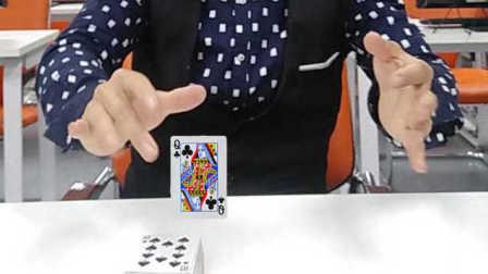 魔术教学:凌空抓牌  太不可思议了 一分钟学会