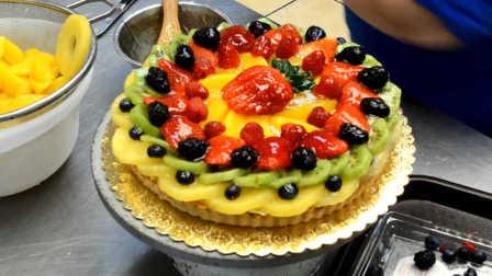 水果拼出不一样的生日蛋糕 GET新技能